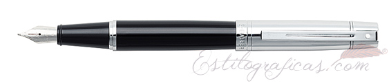 Plumas estilográficas Sheaffer Gift 300 Negro y Cromo 9314-0