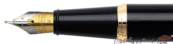 Plumín de plumas estilográficas Gift 300 Negro Brillante y Dorado de Sheaffer