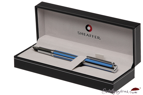 Estuche de bolígrafos Intensity Azul Cian de Sheaffer