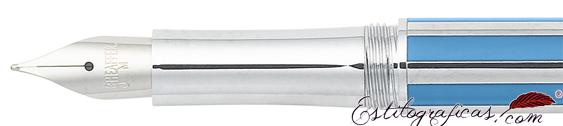 Plumín de pluma estilográfica Intensity azulino o azul aciano de Sheaffer