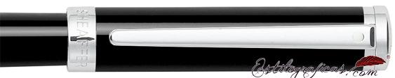 Detalle de pluma estilográfica Intensity Laca Negra de Sheaffer