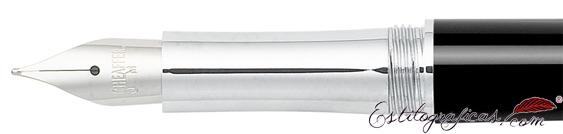 Plumín de pluma estilográfica Intensity laca negra de Sheaffer