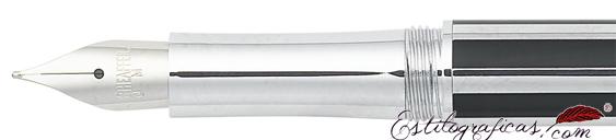 Plumín de pluma estilográfica Intensity negra de Sheaffer