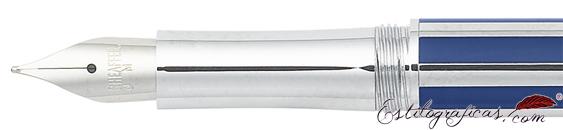 Plumilla de pluma estilográfica Intensity azul ultramarino de Sheaffer