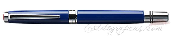 Estilográfica TWSBI Classic Azul cerrada
