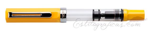 Vista Estilográfica TWSBI Eco Yellow