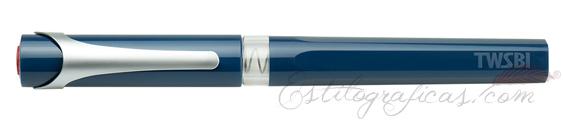 Estilográfica TWSBI Swipe Azul Prusia cerrada