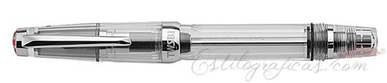 Estilográfica TWSBI Vac Mini Clear cerrada