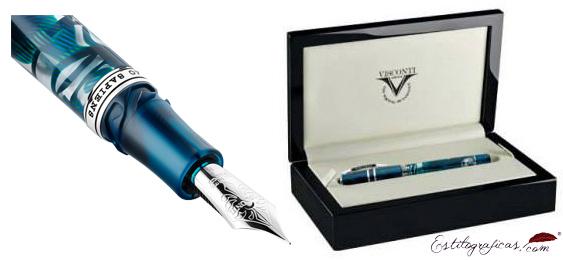Plumín Dreamtouch y caja de Visconti Homo Sapiens Crystal