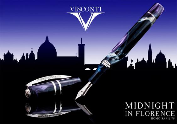 Publicidad Estilográfica Homo Sapiens Midnight in Florence