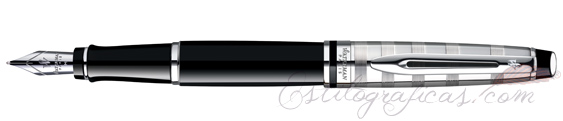 Pluma estilográfica Waterman Expert Deluxe Black CT