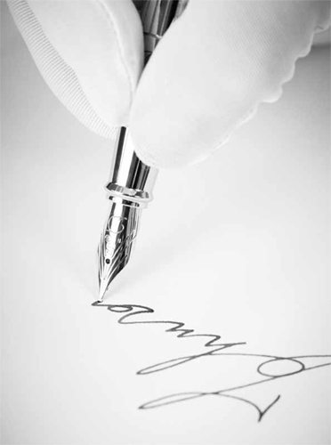 Ejemplo de firma de boda