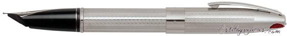 Plumín de pluma estilográfica Legacy Heritage plata de ley de Sheaffer