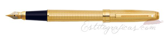 Pluma estilográfica Sheaffer Prelude Signature Bañada en oro de 22k 9172-0