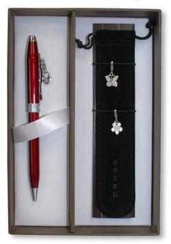 Estuche Premium para bolígrafo Cross Sentiment Rojo Escarlata