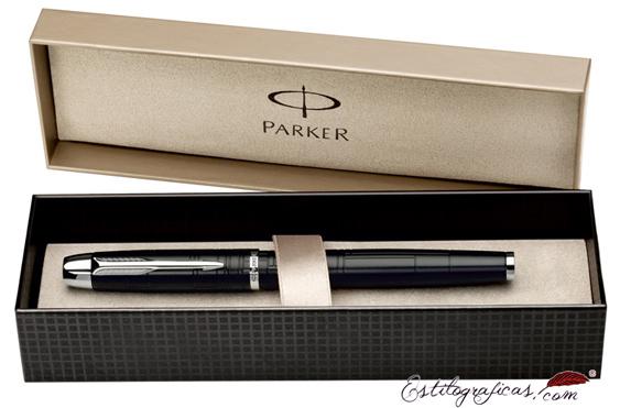 Estuche de presentación del rollerball Parker IM Premium Marrón Metálico