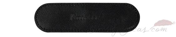 Estuche de piel negro para pluma Kaweco Sport KA Leather51