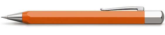 Portaminas Faber-Castell Ondoro Resina Naranja 137502