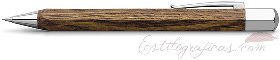 Portaminas Faber-Castell Ondoro Madera de Roble. Oak Wood. 137508