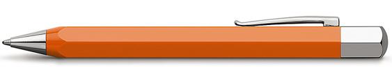 Bolígrafo Faber-Castell Ondoro Resina Naranja 147502