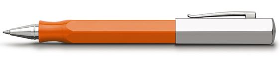 Rollerball Faber-Castell Ondoro Resina Naranja 147512
