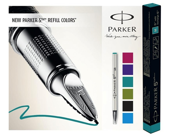 Parker Ingenuity Black Rubber and Metal GT