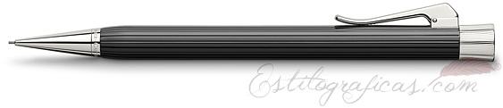 Portaminas Graf von Faber-Castell Intuition Black Acanalada