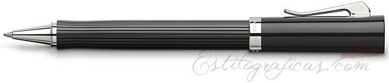 Roller Graf von Faber-Castell Intuition Black Acanalada
