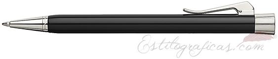 Bolígrafo Graf von Faber-Castell Intuition Black