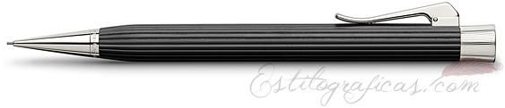 Portaminas Graf von Faber-Castell Intuition Madera de Ébano y Platino