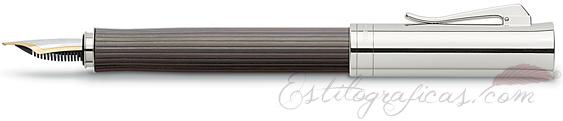 Pluma Estilográfica Graf von Faber-Castell Intuition Madera Grenadille
