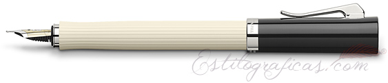 Pluma Estilográfica Graf von Faber-Castell Intuition Marfil Acanalada