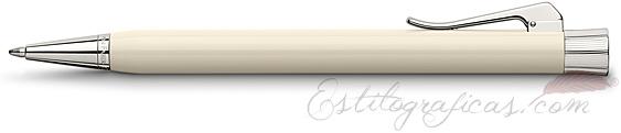 Bolígrafo Graf von Faber-Castell Intuition Marfil