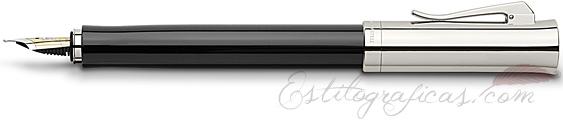 Pluma Estilográfica Graf von Faber-Castell Intuition Platino