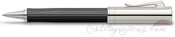 Roller Graf von Faber-Castell Intuition Madera de Ébano y Platino
