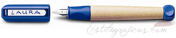 Pluma Estilográfica Lamy abc - Azul, para niños