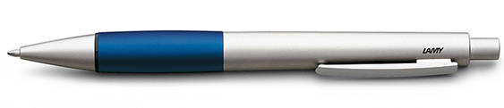 Bolígrafo Lamy Accent AB Paladio y Aluminio Anodizado Azul