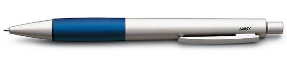 Portaminas Lamy Accent AB Paladio y Aluminio Anodizado Azul