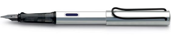 Estilográfica Lamy AL-star Mod. 25 Aluminio Anodizado Plateado
