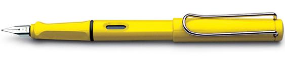 Estilográfica Lamy Safari Mod. 18 Amarillo Brillante