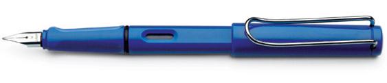 Estilográfica Lamy Safari Mod. 14 Azul Brillante