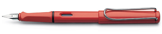 Estilográfica Lamy Safari Mod. 16 Rojo Brillante