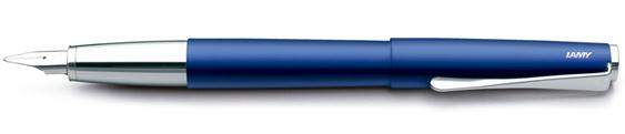 Estilográfica Lamy Studio Azul Mate