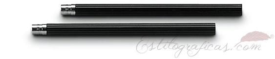 5 lápices cortos de cedro negro para Lápiz Perfecto