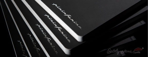Libreta Pininfarina papel piedra