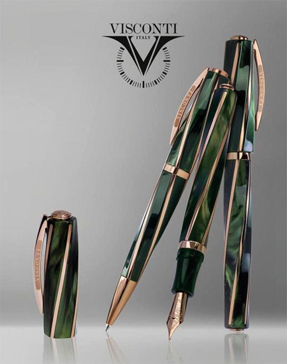 Línea Visconti Divina Elegance Green