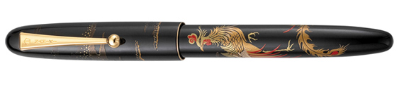 Estilográfica Namiki Chinese Phoenix Nippon Art Collection