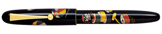 Estilográfica Namiki Daruma Otoshi Nippon Art Collection
