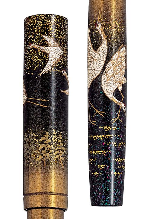 Estilográfica Namiki Emperor Crane (Grulla)