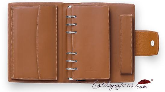 Organizador personal con agenda de piel Graf Von Faber-Castell 118862
